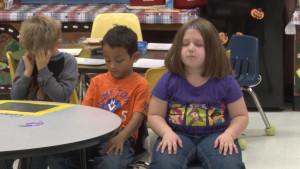 Kindergarteners Practice